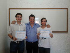 Joaquín Pérez, Gustavo Corbo y Christian Iglesias