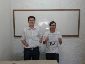 Joaquín y Christian.