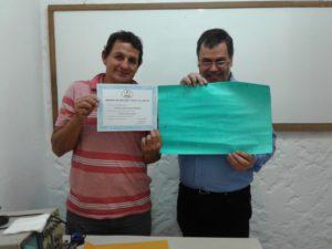 Roberto Goicoa y Gustavo Corbo