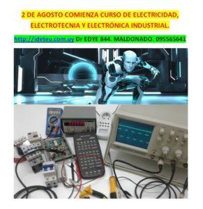 CURSO COMPLETO DE ELECTRICIDAD, ELECTROTECNIA Y ELECTRÓNICA INDUSTRIAL