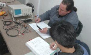 Alumnos curso Electrónica